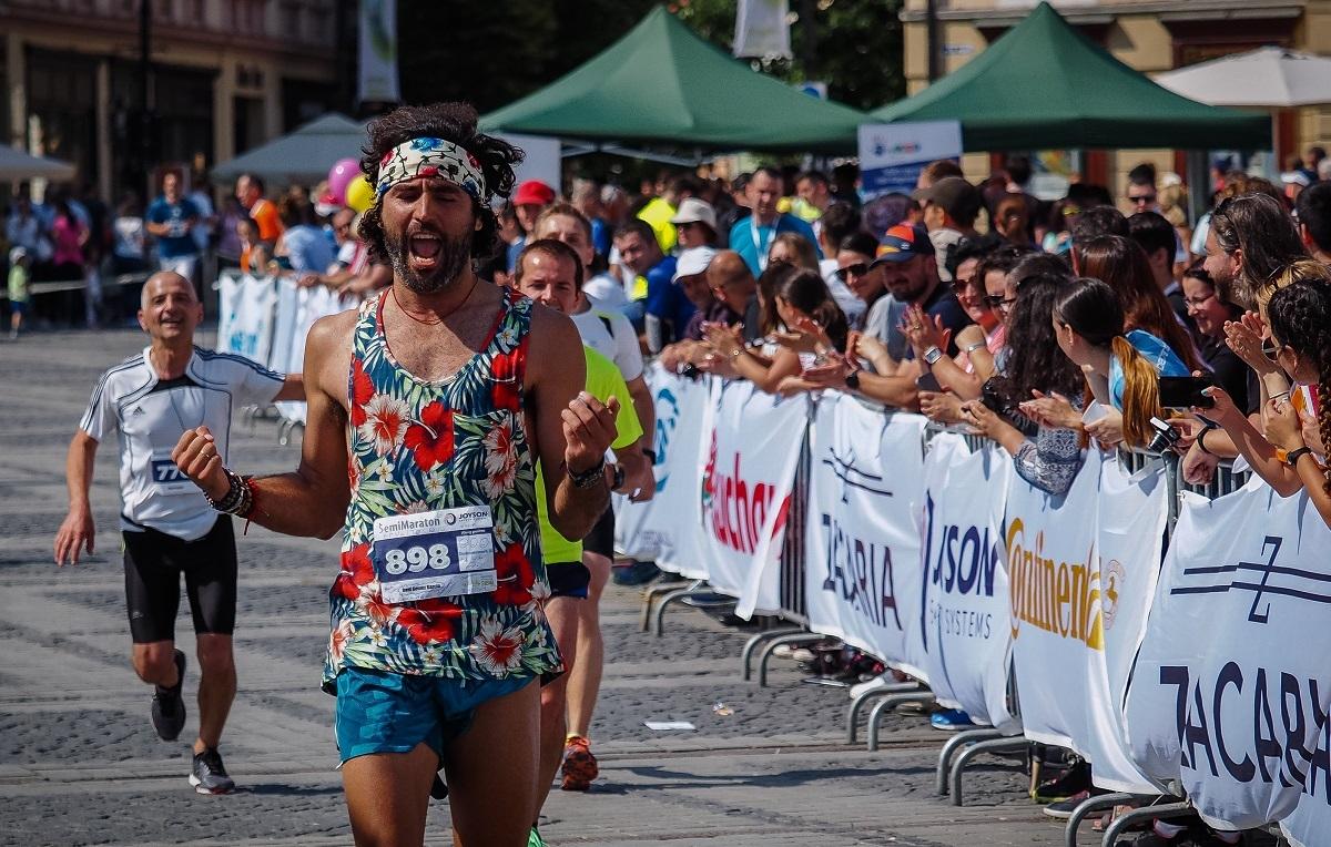 Cine au fost cei mai rapizi alergători la Maratonul Internaţional al Sibiului