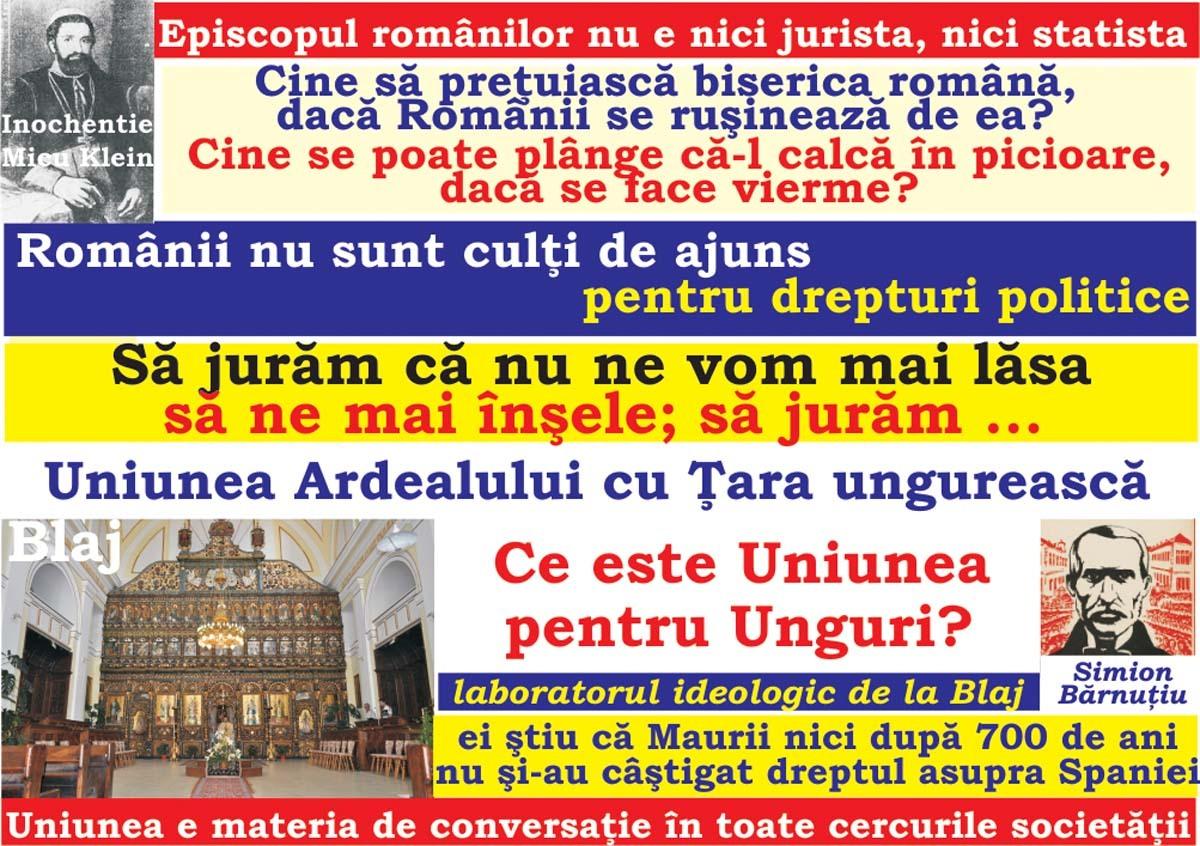 2018-MAREA UNIRE şi Tribunismul (XXIII):