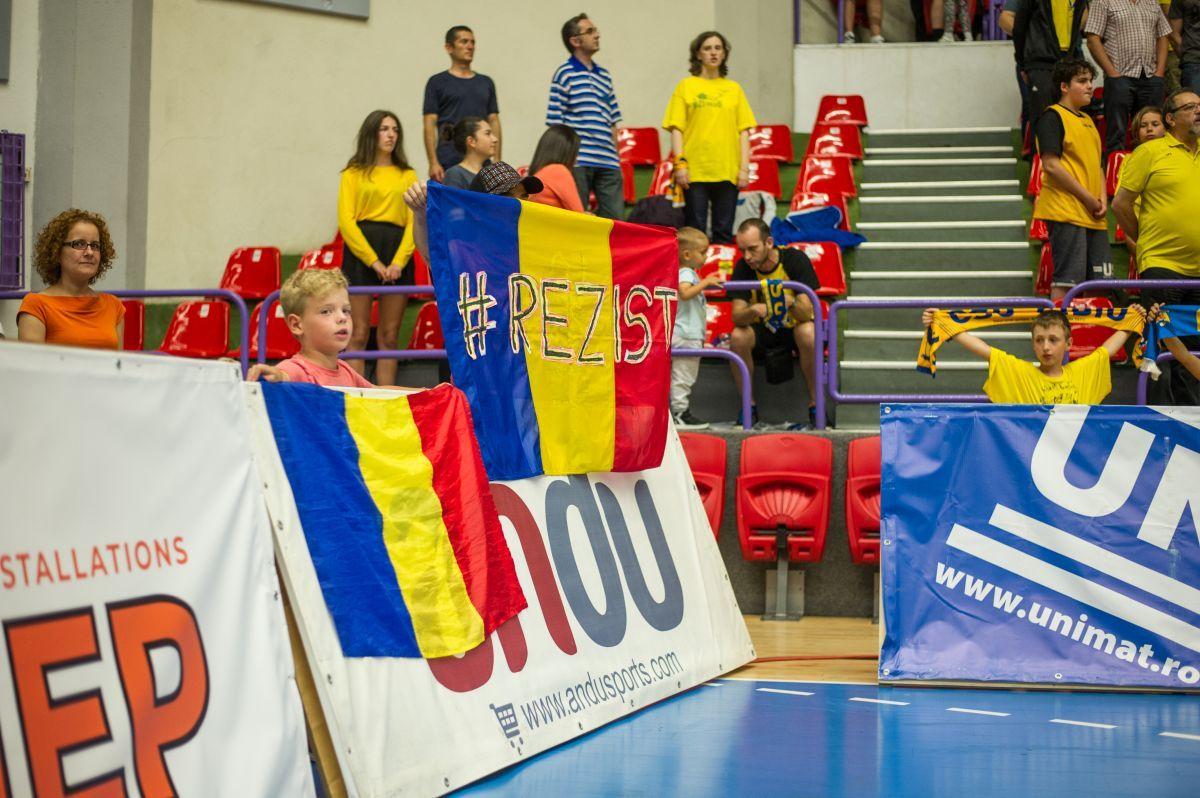 "BC CSU Sibiu - ""U"" BT Cluj 93-90"