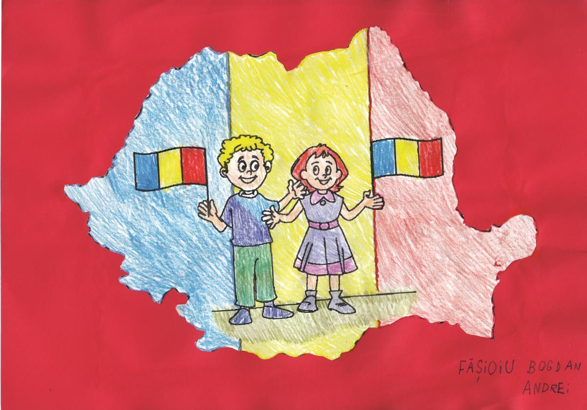 FOTO: Unirea prin ochi de copil