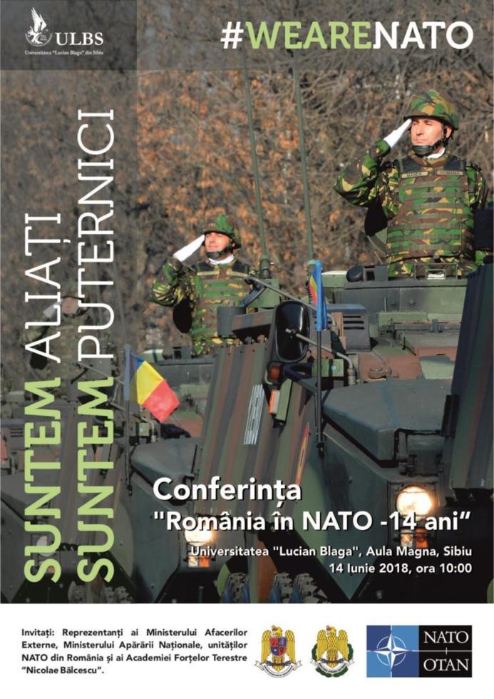 14 ani de la intrarea României în NATO marcaţi la ULBS