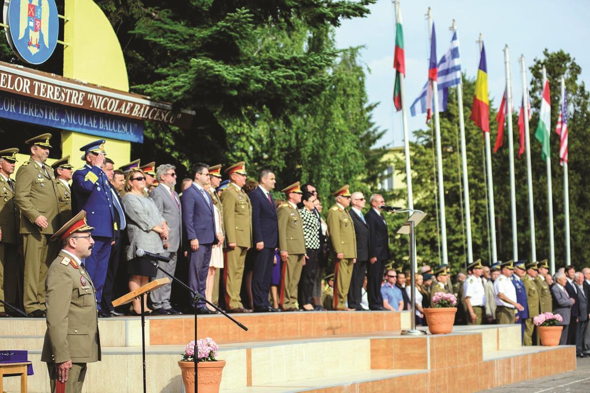Academia Forţelor Terestre Sibiu aniversează 171 de ani de învăţământ militar românesc