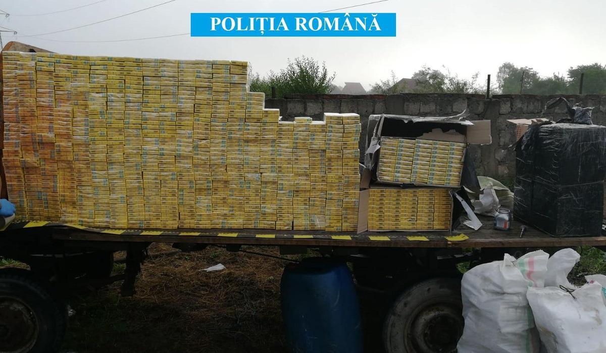 ULTIMA ORĂ/FOTO - VIDEO - Percheziții în Sibiu la contrabandiștii de țigări