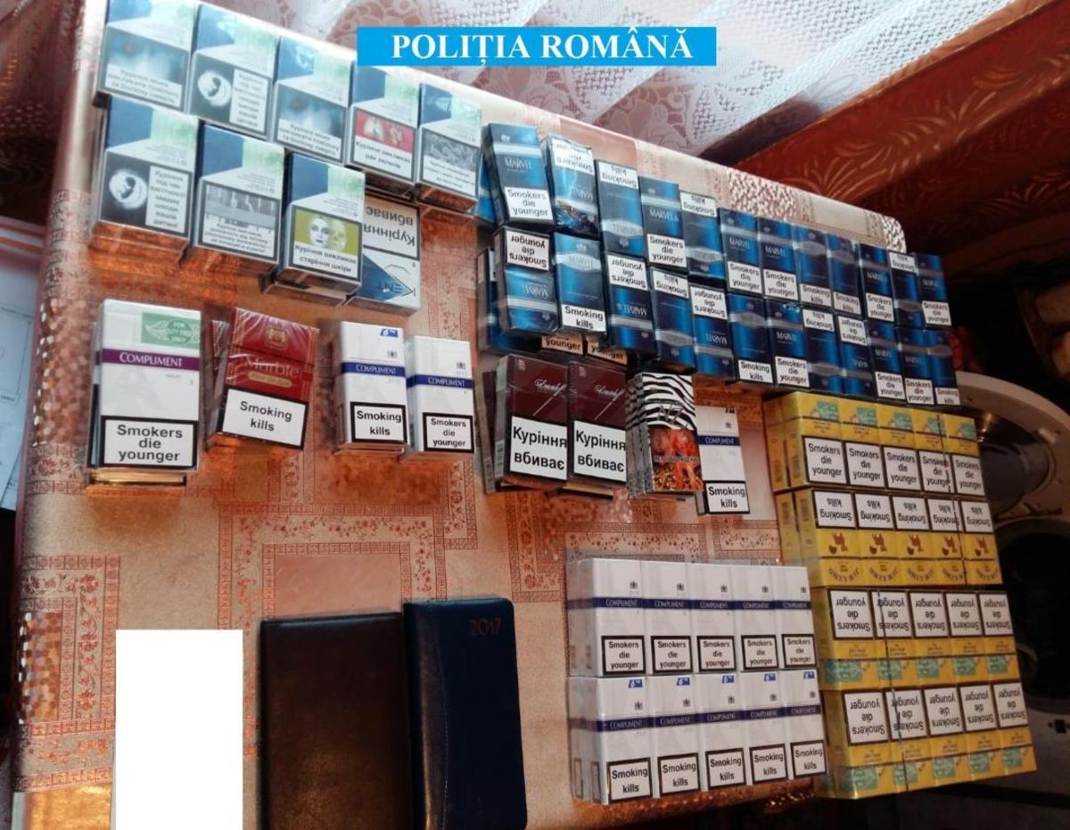 Alți 3 reținuți după perchezițiile la contrabandiștii de țigări