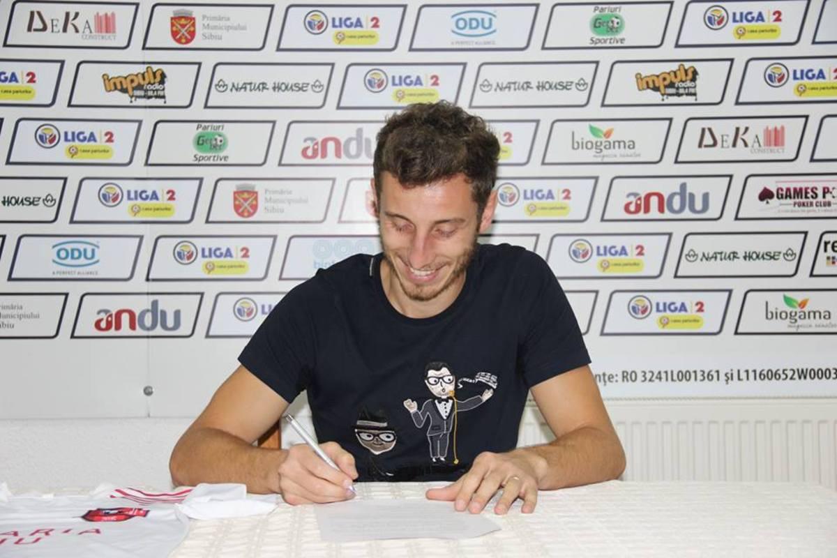 FC Hermannstadt l-a transferat pe Radu Zaharia, fostul jucător al Gazului Metan