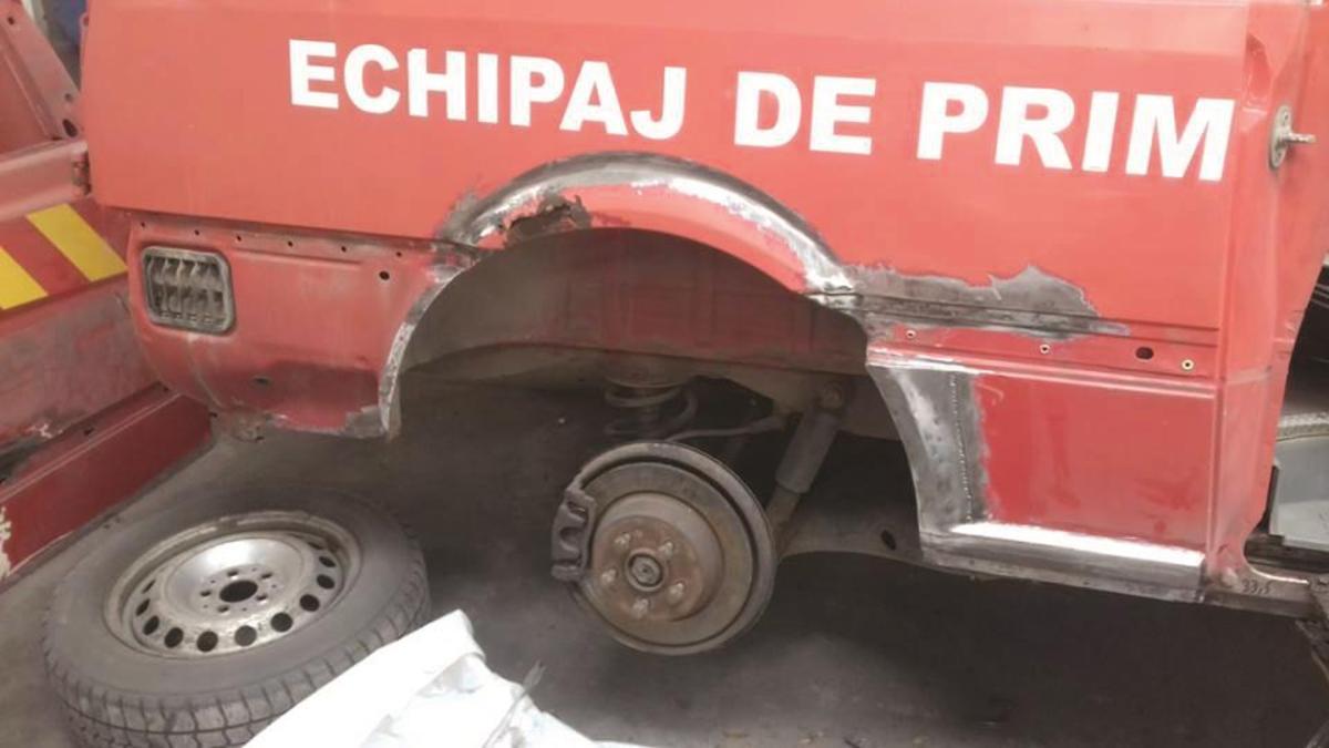 Ambulanţa SMURD Copşa Mică, în reparaţii capitale