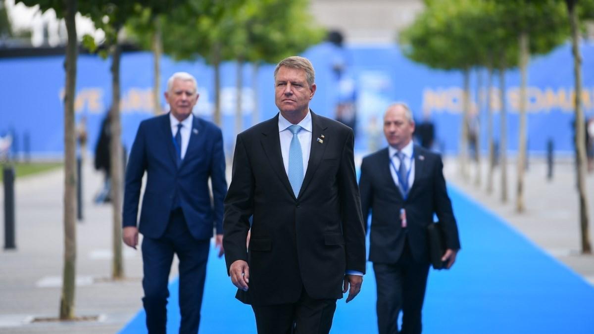 Iohannis la Summitul NATO, despre Kovesi: