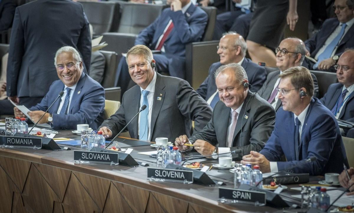 """Iohannis, la NATO: """"Trump a spus lucrurilor pe nume"""""""