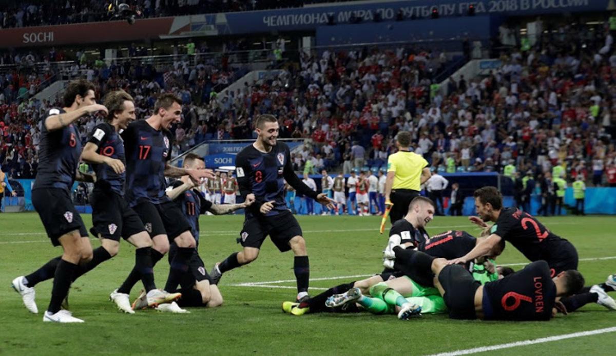 Franța - Croația, finala Cupei Mondiale. Mandzukic trimite Anglia acasă!