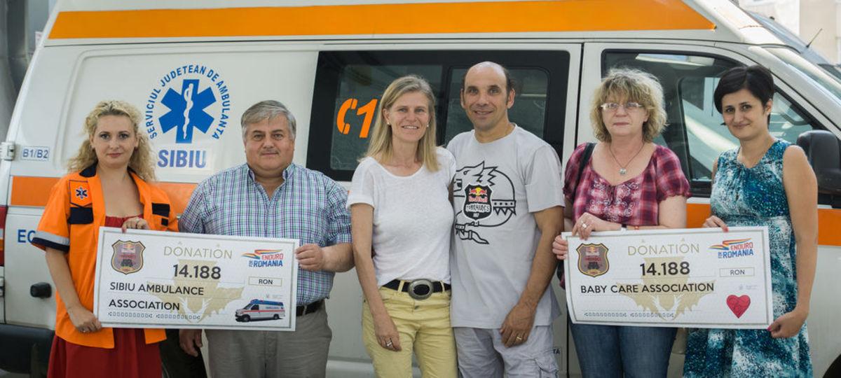 Red Bull Romaniacs se implică în două proiecte sociale în Valea Jiului