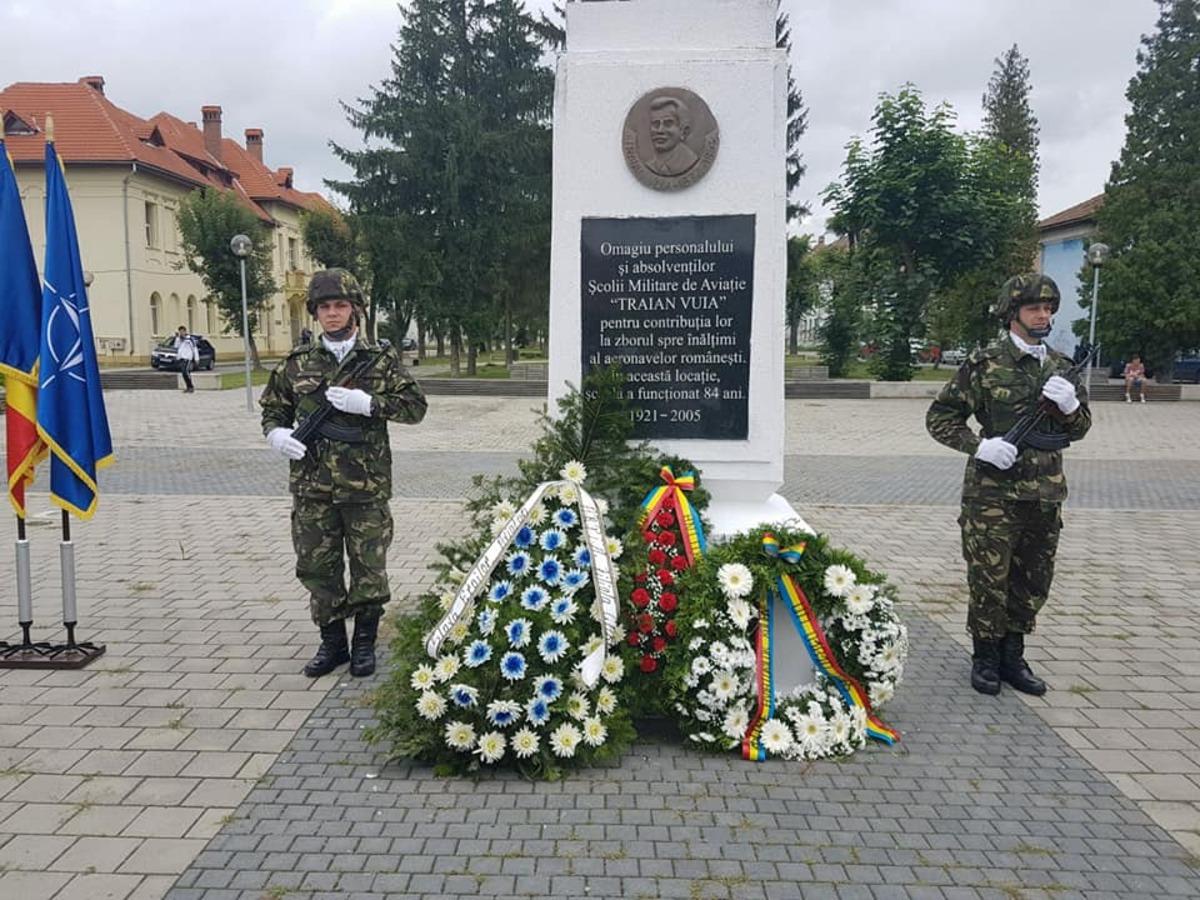 Mediașul a marcat Ziua Aviației Române și a Forțelor Aeriene