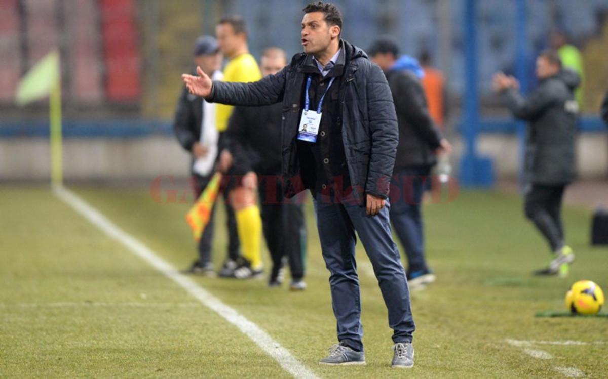 """Teja, antrenor Gaz Metan înaintea meciului cu Dinamo: """"Este un test pentru noi, vom vedea cam pe unde ne situăm"""""""