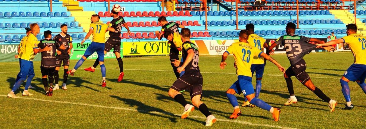(FOTO) Arbitrul Iulian Dima, prins cu ocaua mică. Penalti refuzat pentru FC Hermannstadt!