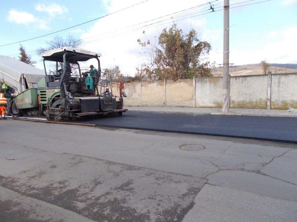 Strada Feleac din Mediaș intră în reparații