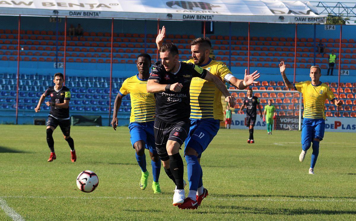 FC Hermannstadt, al doilea eșec cu 2-0 în Liga 1