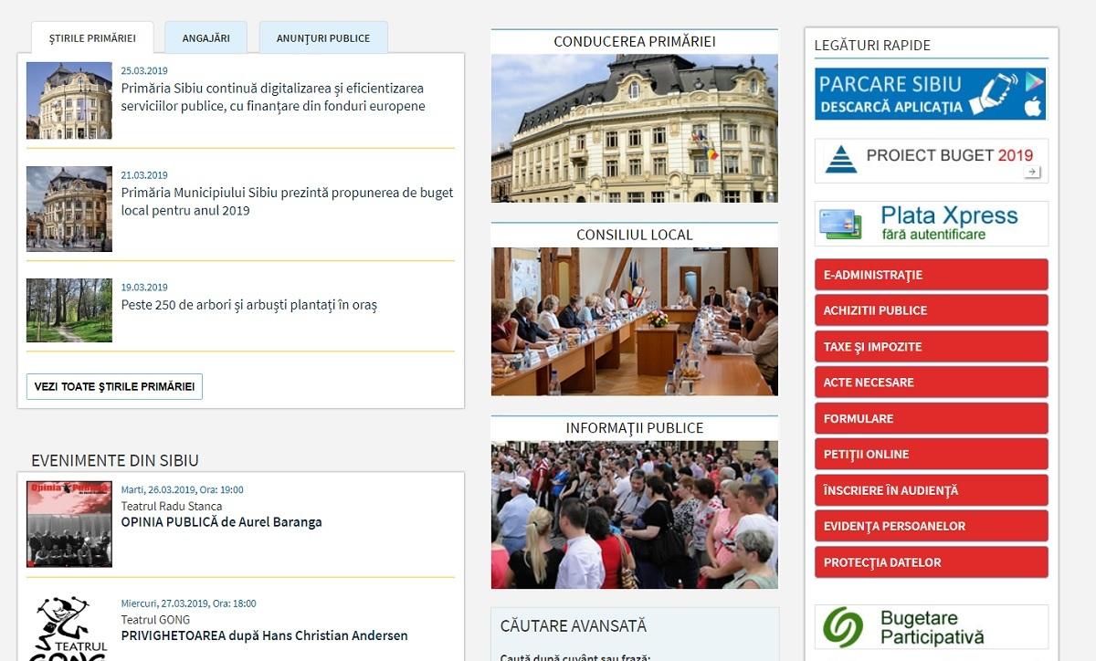 Primăria Sibiu Implementează Proiecte De Digitizare și Depunere