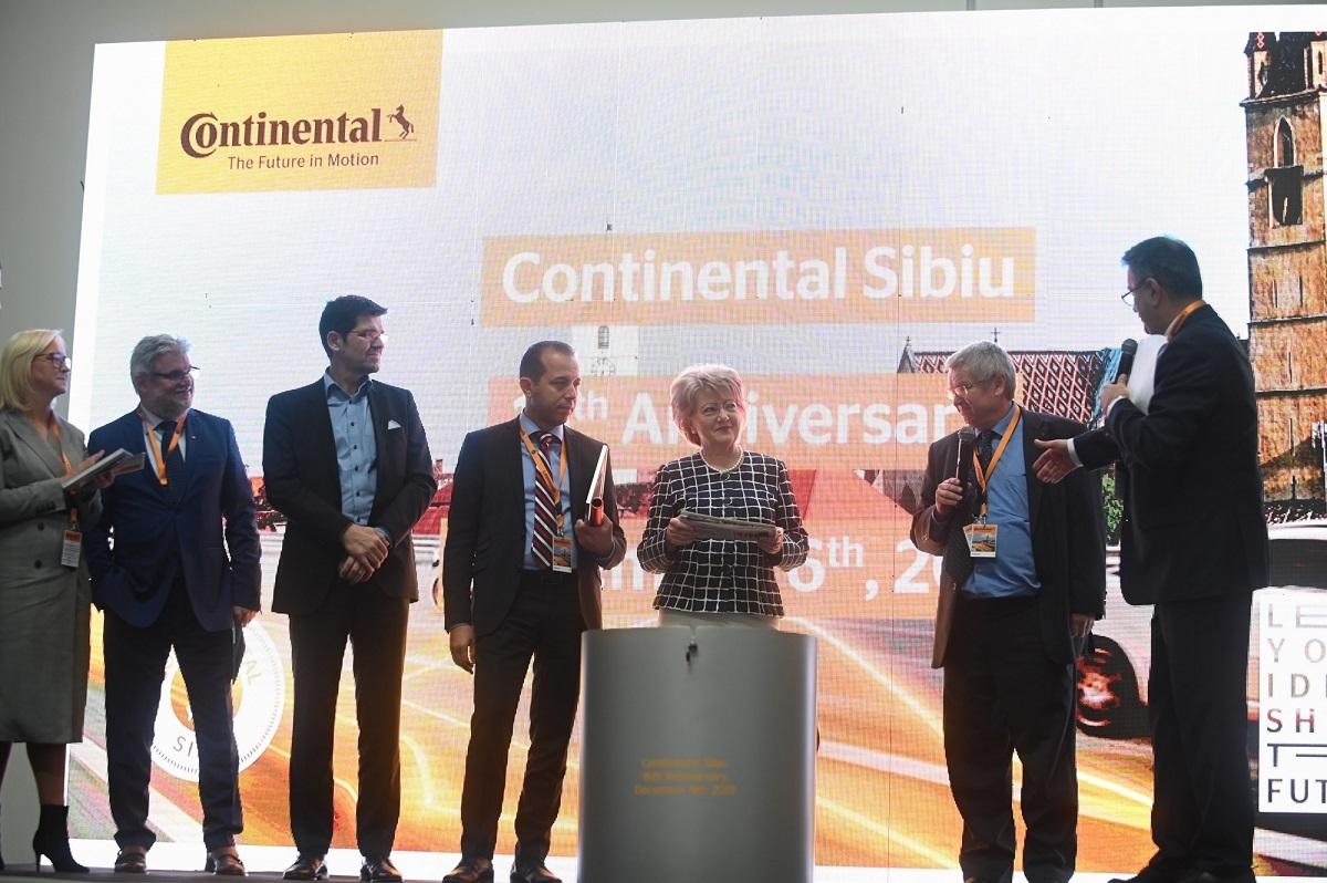 15 Ani De Continental La Sibiu Sărbătoriți Cu O Investiție De 32